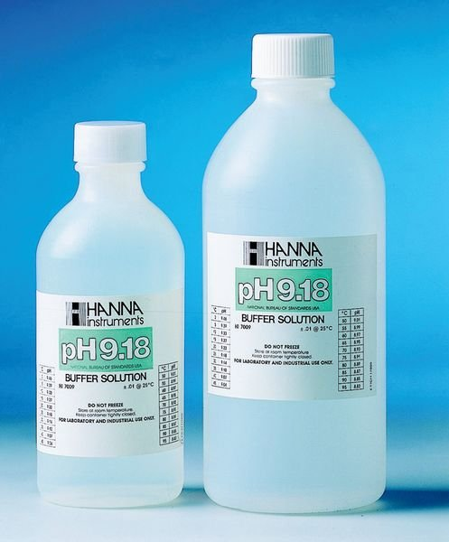 Solutions d'étalonnage pour le pH en coffret