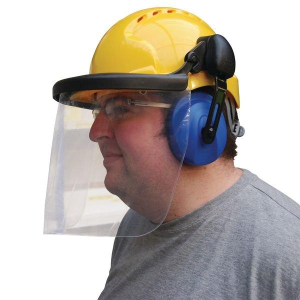 Porte-visière pour casque de protection - Casques antibruit