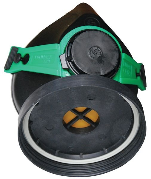 Demi-masque de protection respiratoire monofiltre classique - Demi-masque respiratoire