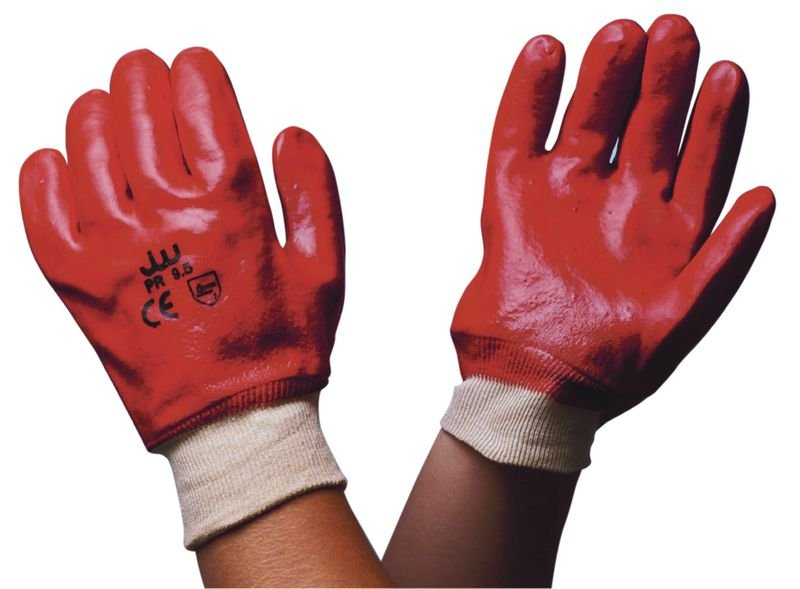 Gants de manutention en PVC enduit résistants à l'abrasion - Gants de manutention