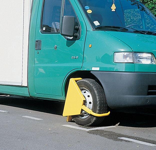 Bloque-roue voiture haute sécurité - Seton