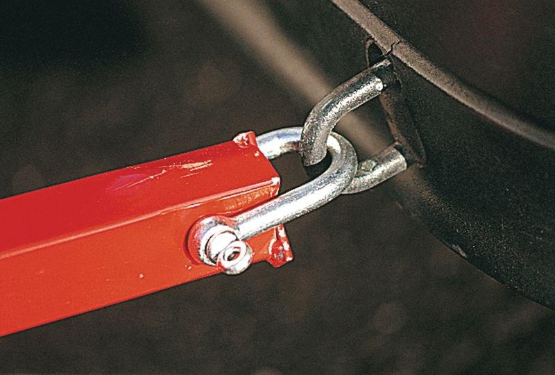 Barre de remorquage avec système anti-coup de bélier - Outillage et boîte à outils