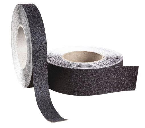 Bandes antidérapantes lavables noires en formes pré-découpées - Bandes antidérapantes adhésives