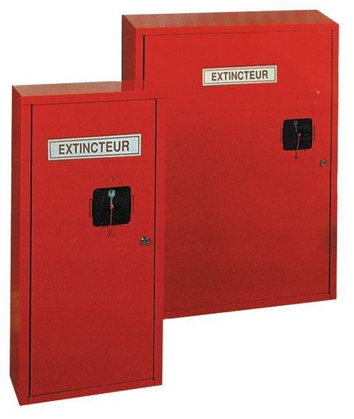 Coffret métallique pour extincteurs - Seton