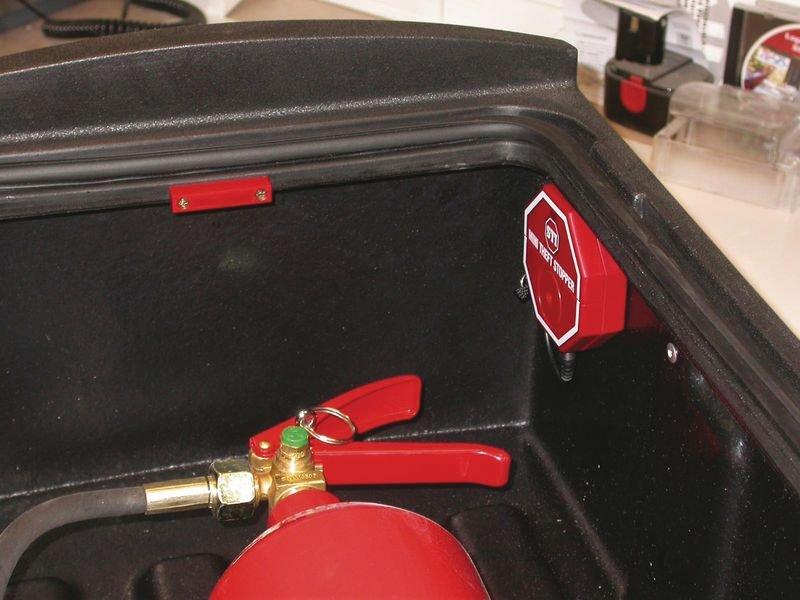 Alarme d'extincteur Mini stop-vol - Seton