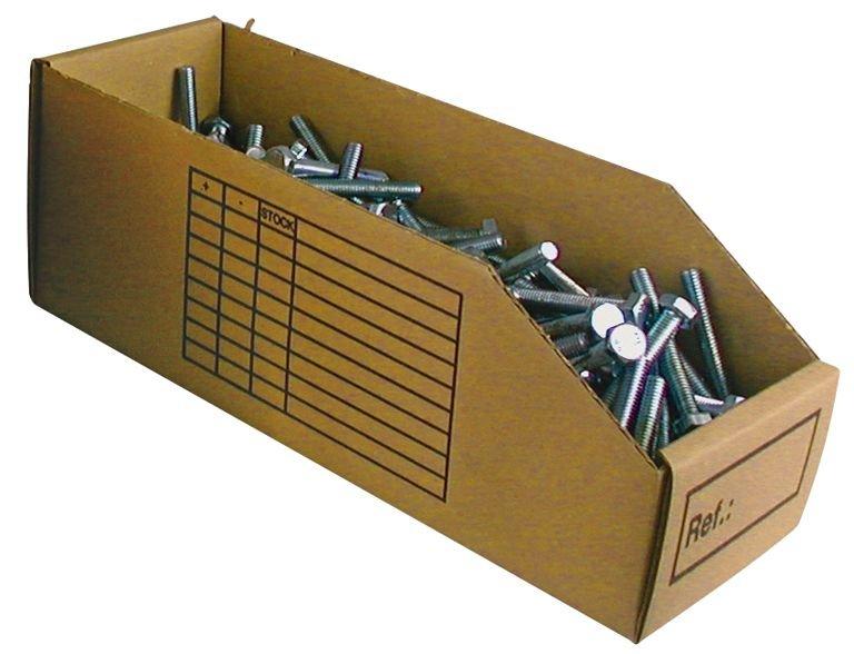 Bacs à bec en carton - Bacs de rangement, stockage