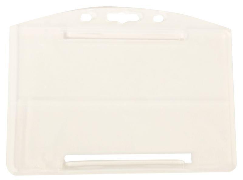 Porte-badge rigide en polypropylène translucide - Seton