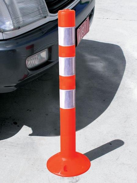 Balise de signalisation en PVC souple rétro-réfléchissante - Seton
