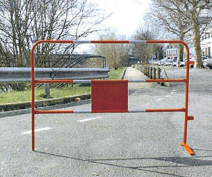 Barrière de chantier réfléchissante personnalisable - Seton