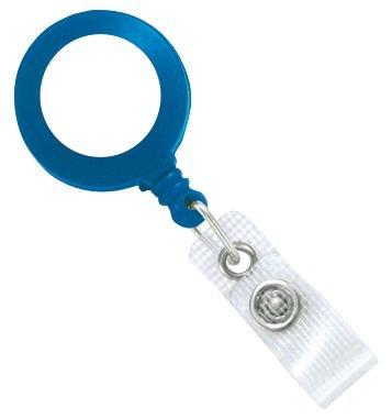 Porte-badge enrouleur zip personnalisé avec finition résine - Cordons et enrouleurs