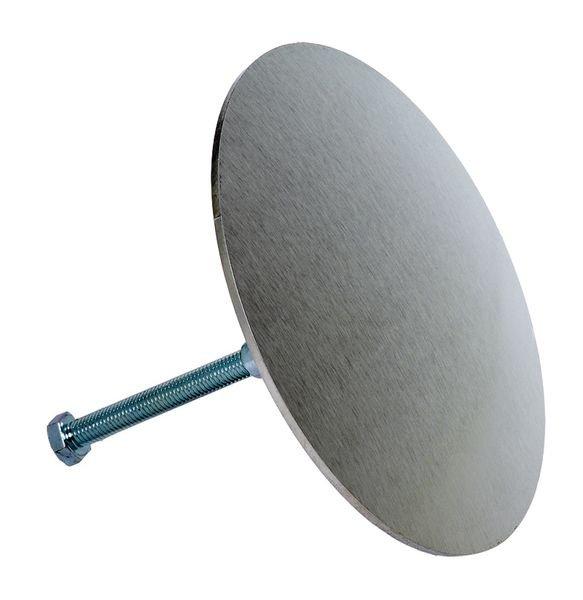 Clou de voirie en métal à sceller au sol