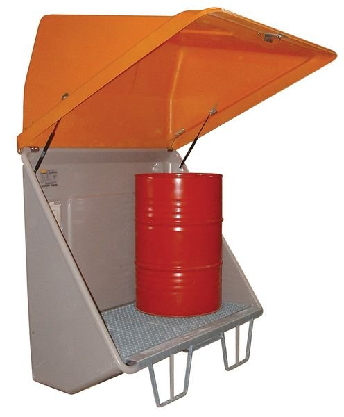 Box de rétention en polyester pour stockage extérieur