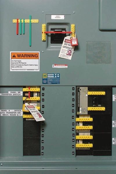 Kit de condamnation Breaker Blocker - Condamnation universelle de disjoncteur électrique