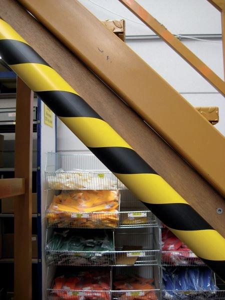 Cornière de protection en mousse polyuréthane - coin de 30 mm - Seton