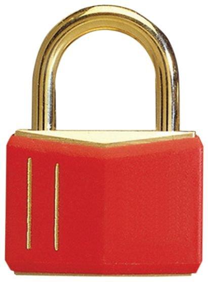 Cadenas de sécurité en laiton massif de couleur - Seton