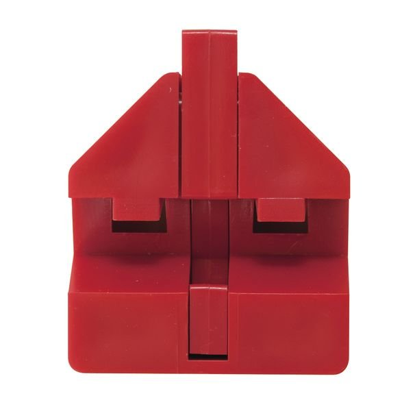 Système de condamnation de disjoncteurs en polycarbonate