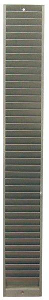 Casiers muraux en métal pour badges ISO