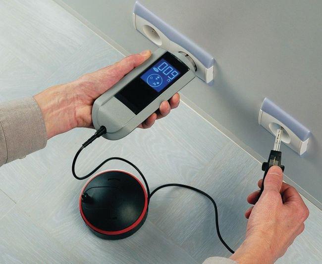 Appareil de mesure de terre et de continuité - Instruments de mesure - Electrique