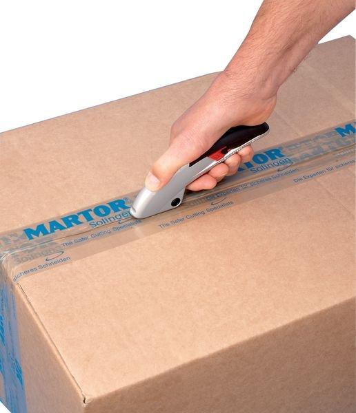 Cutter de sécurité avec lame rétractable automatique Martor® Secupro Martego - Seton