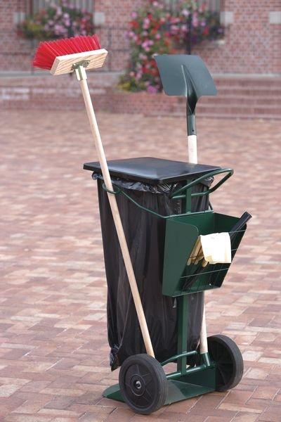 Chariot de voirie pour sac poubelle - Seton