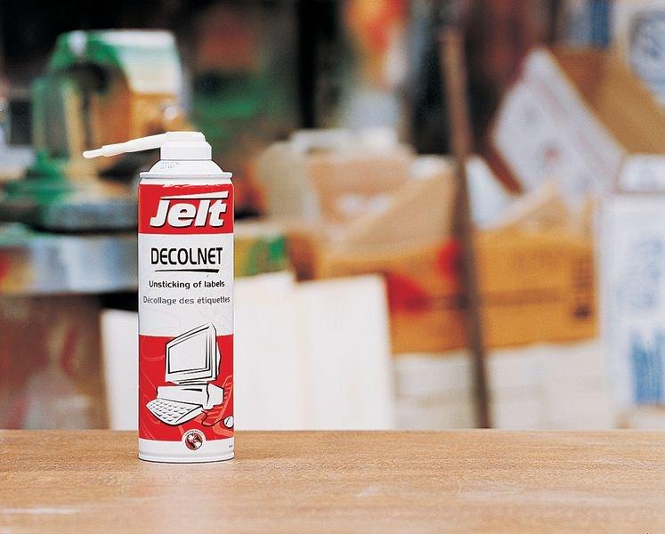 Aérosol Decolnet pour le décollage des étiquettes