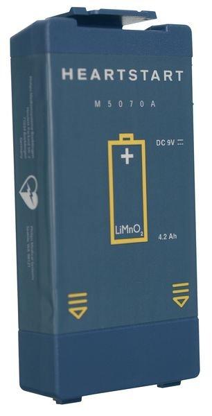 Kit batterie pour défibrillateur HS1 + signalétique officielle offerte - Batteries et électrodes pour défibrillateurs