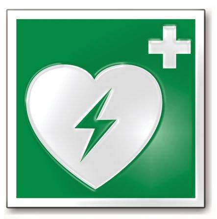 Défibrillateur HeartStart HS1 semi-automatique avec coffret et signalétique - Défibrillateur Automatique Externe (DAE)