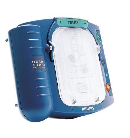 Défibrillateur semi-automatique HeartStart HS1 avec sa housse de rangement - Seton