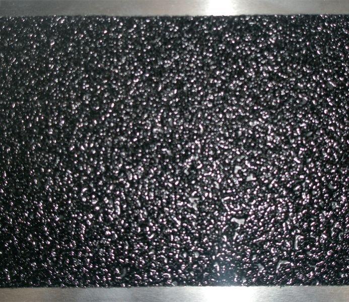 Lot de 3 plaques antidérapantes noires en aluminium (2+1 gratuite) - Plaque antidérapante