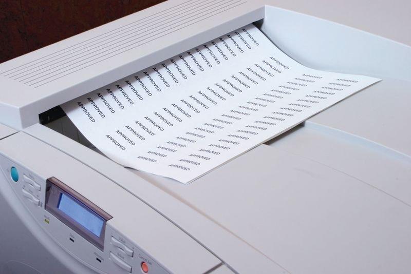 Etiquettes magnétiques pour imprimante Laser - Seton