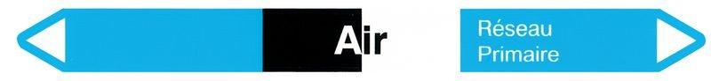 Marqueurs pour canalisations hospitalières Air (Air)