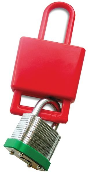 Mâchoire de consignation non conductrice en résine - Moraillons de consignation non-conducteurs