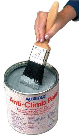 Peinture anti-adhérente pour rendre une surface glissante - Seton