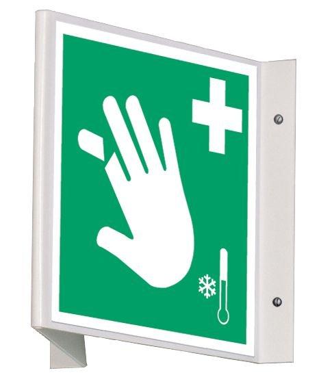 Signalétique d'urgence Equipement de soins pour membres coupés