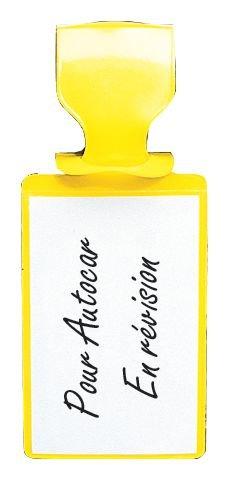 Pochettes d'inspection colorées avec attache - Seton