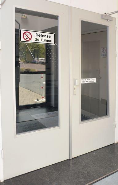 Panneaux d'interdiction rectangulaires - Défense de fumer - Seton