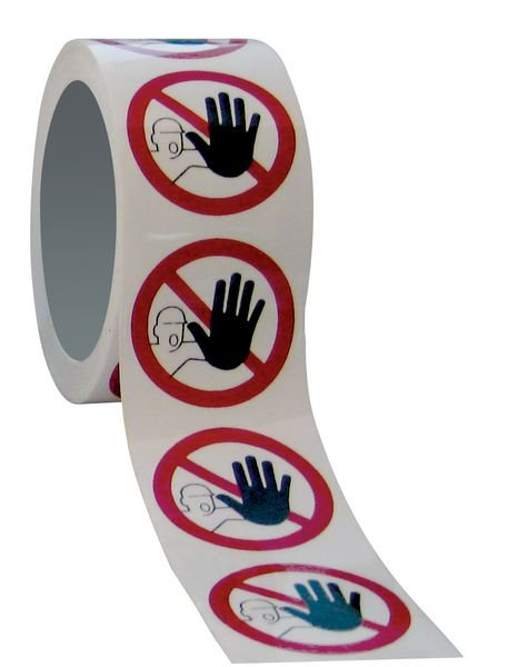 Mini-pictogrammes d'interdiction Accès interdit aux personnes non autorisées en rouleau