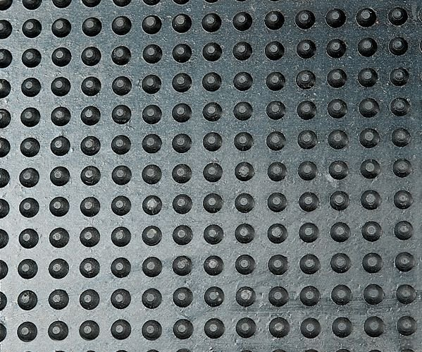 Plaques de marche antidérapantes en caoutchouc - Puissance moyenne - Plaques de marche avec nez