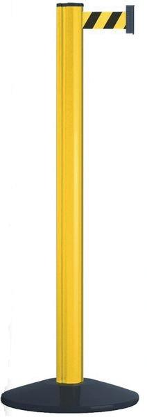 Poteaux à sangle étirable rouge ou jaune pour entrepôt