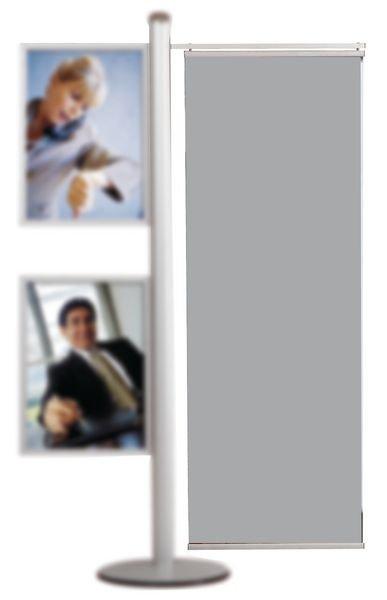 Porte-affiches pour présentoir de visuels modulable - Seton