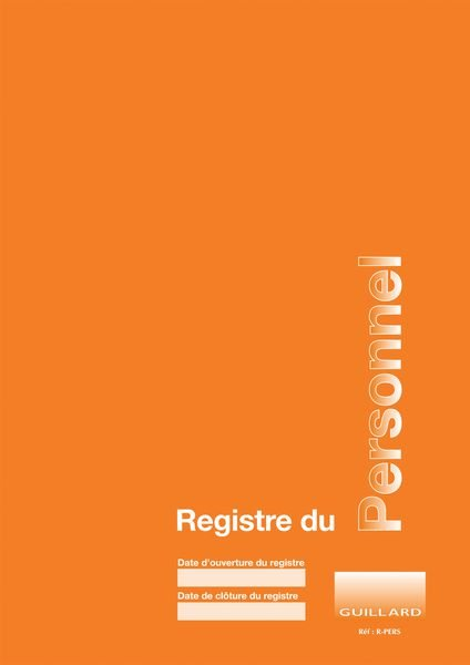 Registre obligatoire - Registre du personnel