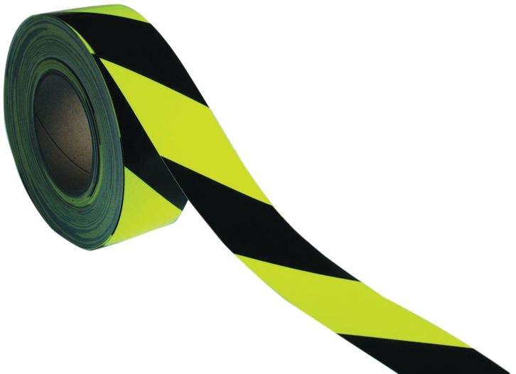 Bandes de signalisation haute visibilité photoluminescentes et fluorescentes