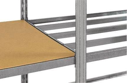 Rayonnage tubulaire galvanisé pour charges légères