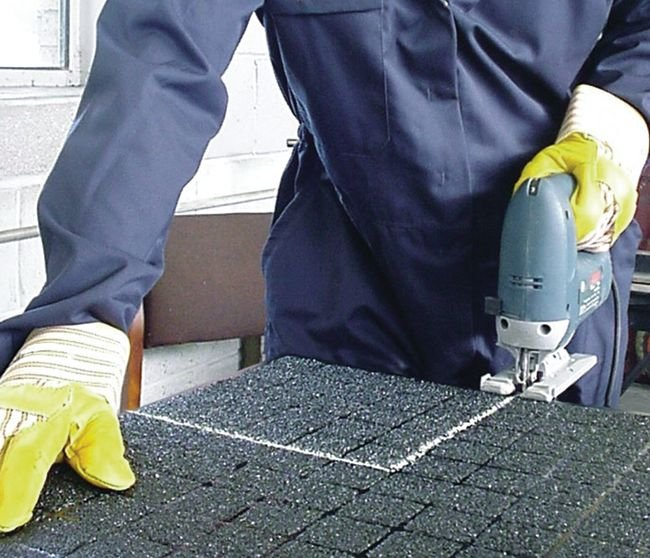 Panneau de sol antidérapant pour trafic piétonnier intérieur ou extérieur - Barrières de sécurité pour piétons