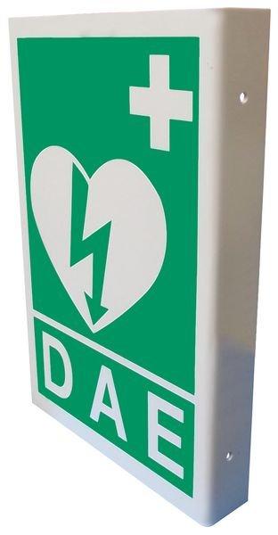 Panneaux de signalisation pour Défibrillateur automatique externe pour le cœur - Seton