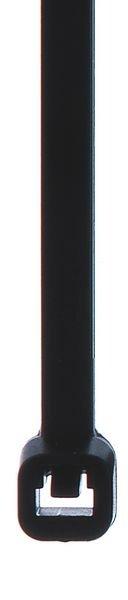 Colliers de serrage en nylon noirs ou transparents
