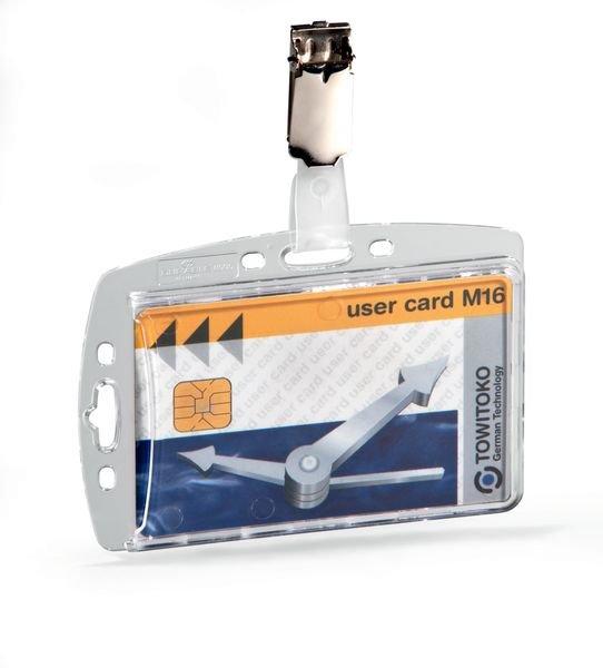Porte-badge rigide avec double orientation