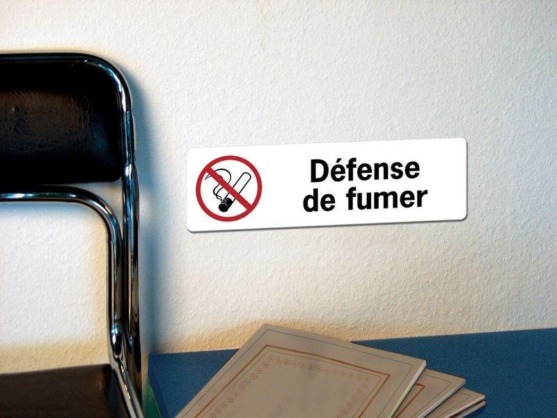 Panneau adhésif en PVC Sens interdit - Privé - Seton