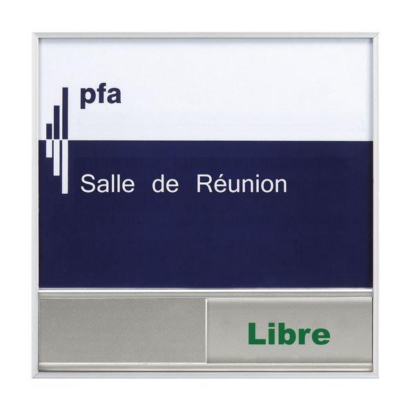 Signalétique intérieure Madrid Occupé/Libre en aluminium - Seton