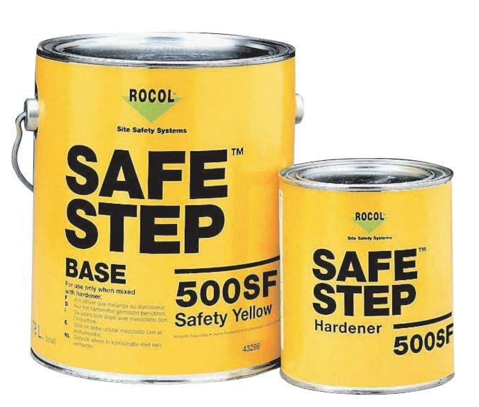 Peinture antidérapante SafeStep 500 pour milieux agressifs